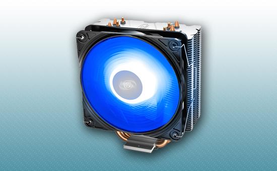 Воздушное охлаждение DEEPCOOL GAMMAXX 400 V2 BLUE