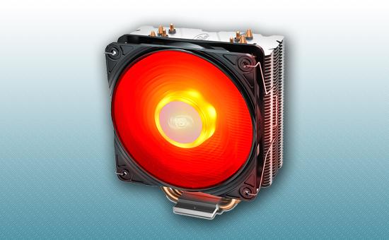 Воздушное охлаждение DEEPCOOL GAMMAXX 400 V2 RED