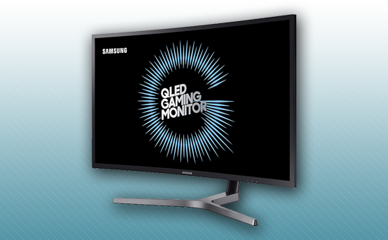 """Игровой Монитор 31.5"""" Samsung LC32HG70QQIXCI"""