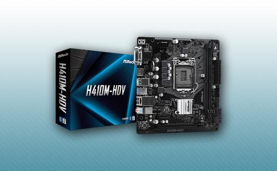 Материнская плата ASRock H410M-HDV LGA1200