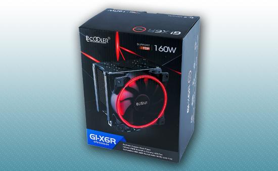 Воздушное охлаждение PCCooler GI-X6R