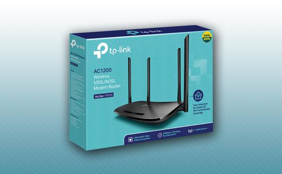 Модем беспроводной ADSL Tp-Link Archer VR300