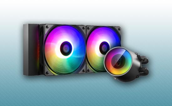 Водяное охлаждение Deepcool CASTLE 240 RGB V2