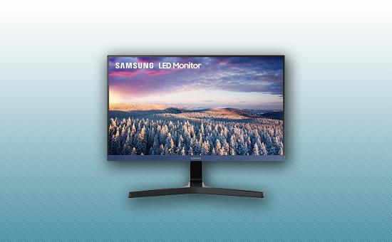 """Монитор 23.8"""" Samsung LS24R358FHIXCI  Black"""