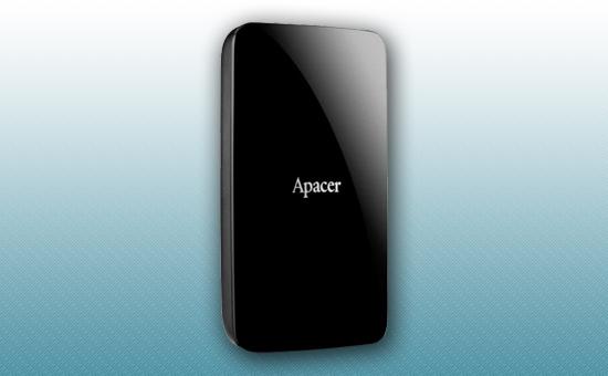"""Внешний жесткий диск 1Tb Apacer AC233 2.5"""" USB 3.1 черный [AP1TBAC233B-S]"""