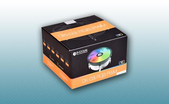 Воздушное охлаждение ID-COOLING DK-03i RGB PWM