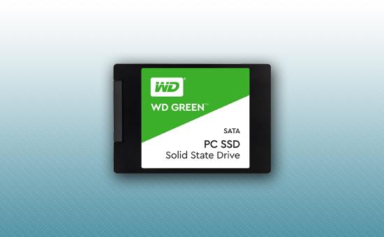 """Твердотельный накопитель SSD 480GB WD GREEN  2.5"""""""