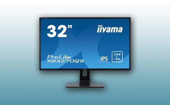 (Уценка) Монитор 31.5'' Iiyama XB3270QS-B1 C Black