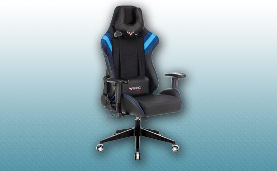 Кресло игровое Zombie VIKING 4 AERO черный/синий [VIKING-4-AERO-B/BL]