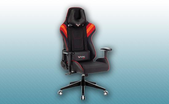 Кресло игровое Zombie VIKING 4 AERO черный/красный [VIKING-4-AERO-B/R]