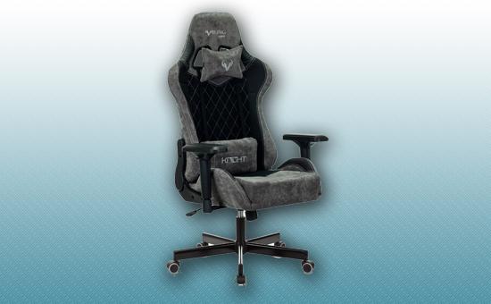 Кресло игровое Zombie VIKING 7 KNIGHT Fabric черный [VIKING-7-KNIGHT-Fabric-BK]