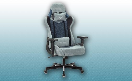 Кресло игровое Zombie VIKING 7 KNIGHT Fabric синий [VIKING-7-KNIGHT-Fabric-BL]