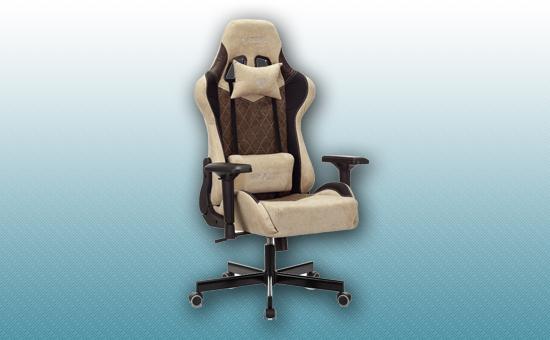 Кресло игровое Zombie VIKING 7 KNIGHT Fabric коричневый [VIKING-7-KNIGHT-Fabric-BR]