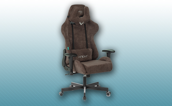 Кресло игровое Zombie VIKING KNIGHT Light-10 темно-коричневый [Z-VIKING-KNIGHT-LT-10-BR]
