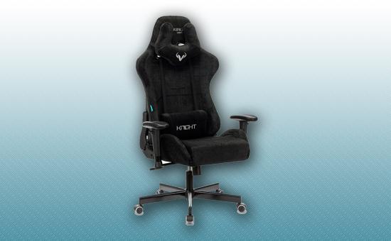 Кресло игровое Zombie VIKING KNIGHT Light-20 черный [Z-VIKING-KNIGHT-LT-20-BK]